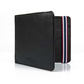 Jaguar Heritage Leather Wallet BLACK