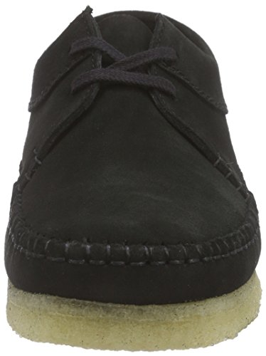 Clarks Originals 2611_Weaver_Herren, Low-Top Uomo Nero (Black Sde)