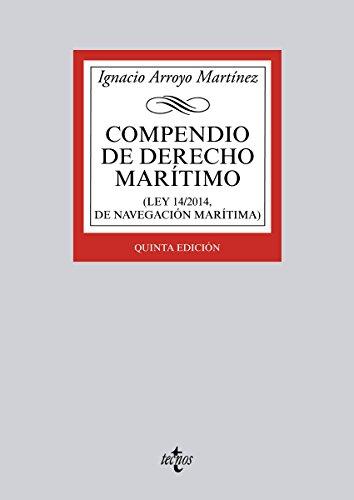 Descargar Libro Compendio De Derecho Marítimo Ignacio Arroyo