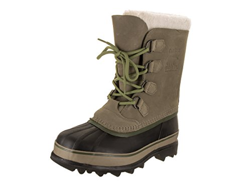 SOREL Mens Caribou Sage/Black Boot 11 Men US WVFb8Nb