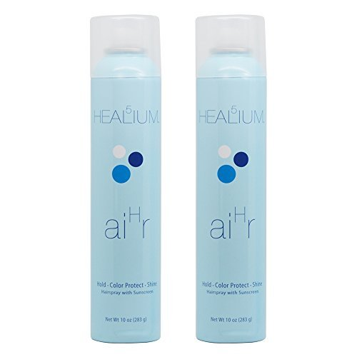 "Healium Hair Spray 10oz ""Set of 2"""