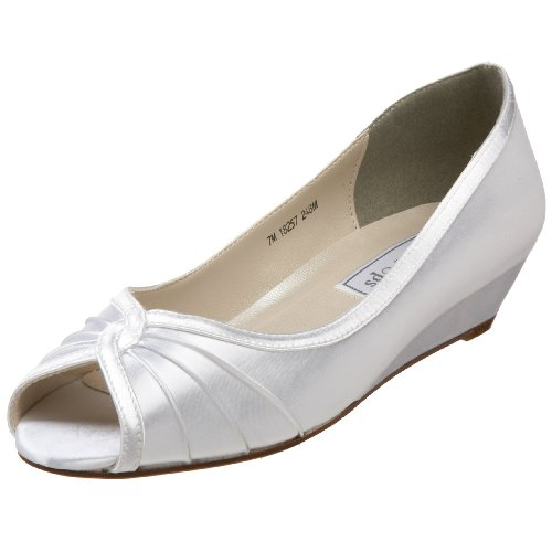 Touch Ups Women's Honey Pump,White,5.5 M US ()