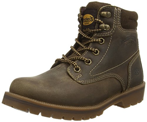 Dockers 35aa202-400910, Women's Ankle Boots Brown (Cafe)
