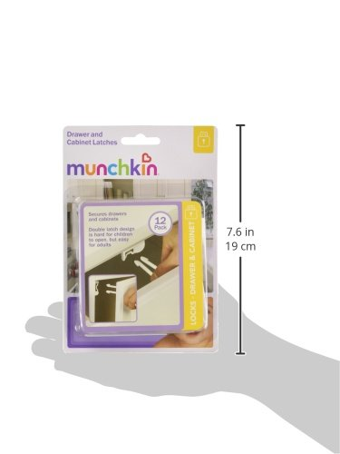 Munchkin 12 Count Drawer and Cabinet Latches 35026