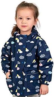 Jan & Jul Toddler Kids Girls' Rain-Coat, Waterproof Rain Jacket, Flee