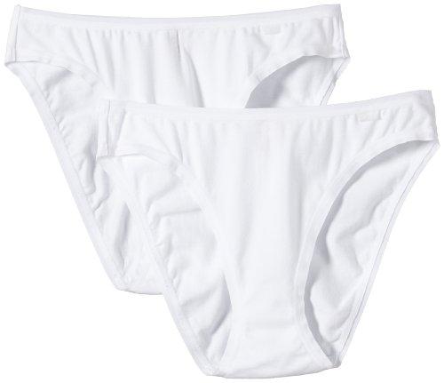 ESPRIT - Braguita para mujer, pack de 2 Blanco