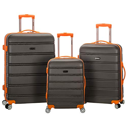3 Piece Luggage Set, Charcoal