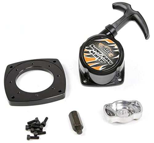 26 Cc Gasoline Engine - ROVAN Black super easy pull start RC 1/5 Model Car Truck Pull Starter 26-36CC Gasoline Engine Parts