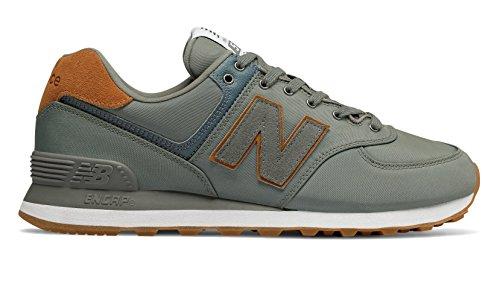 (New Balance Men's Ml574v2 Shoe,Green,9.5 D)