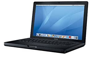 Apple MacBook MA701LL/A 13.3-inch Laptop (2.0 GHz Intel Core 2 Duo, 1 GB RAM, 120 GB Hard Drive, DVD/CD SuperDrive) - Black