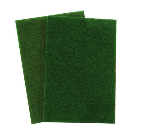 - 3M 08293 Scotch-Brite General Purpose Scouring Pad, Green, 20-Pack