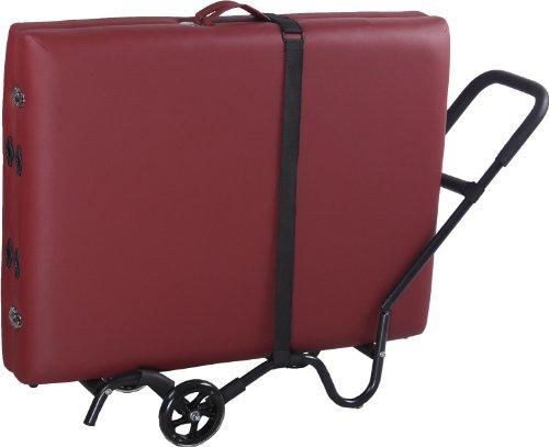 Sierra Comfort Massage Table Cart/Trolley, Black (Sierra Master Sports)