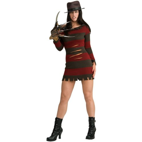 Miss Krueger Costume - X-Small - Dress (Miss Krueger Costume Plus Size)
