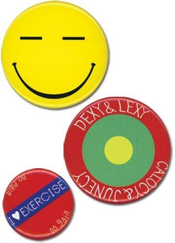 UPC 699858820351, Persona4 Chie 3 Pcs Set Button