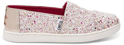 Toms Youth Alpargata Sequins And Glitter Espadrille