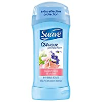 Suave Antiperspirant Deodorant, Sweet Pea and Violet 2.6 oz