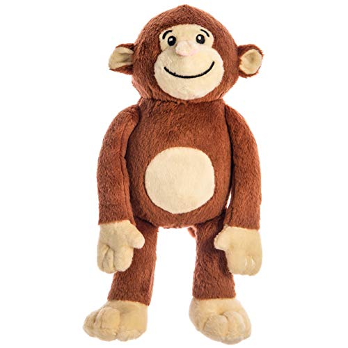 Yonkey Monkey Popular 10-inch Cute Soft Plush Monkey, Travel Buddy, Blogger, Friend
