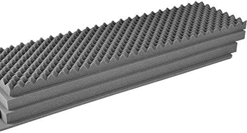 CVPKG Presents - Pelican / Storm iM3100 4 piece replacement foam set. Convoluted lid foam & 3 bottom pieces by Pelican
