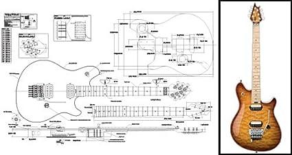 amazon com plan of a peavey wolfgang electric guitar full gretsch guitar wiring diagrams peavey electric guitar wiring diagram #8