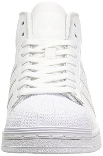adidas Performance Pro Modelo J Zapatos de baloncesto (Little Kid/Big Kid) FtwWht-FtwWht-FtwWht