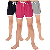 WEWINK PLUS Girls Knit Casual Sports Shorts 4-13 Years