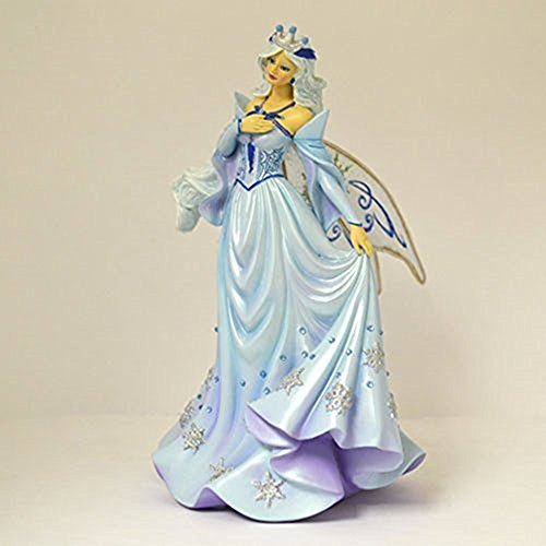 The Bradford Exchange Queen Of The Winter Solstice Fairy Figurine Celebrations Of Season By Brooke Gillette