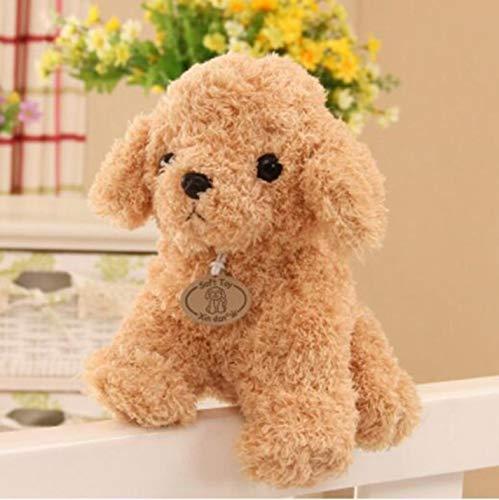 Stuffed Dog Plush dog Mini Poodle Dog Plush Toys Pet Puppy Stuffed Soft Animals Car Styling Child ()