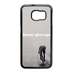 Good Quality Phone Case Designed With Never Give Up For Samsung Galaxy S6 Edge