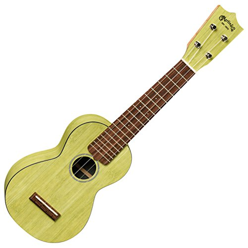 Martin 0X Uke Green Bamboo Ukulele with Gig Bag by Martin