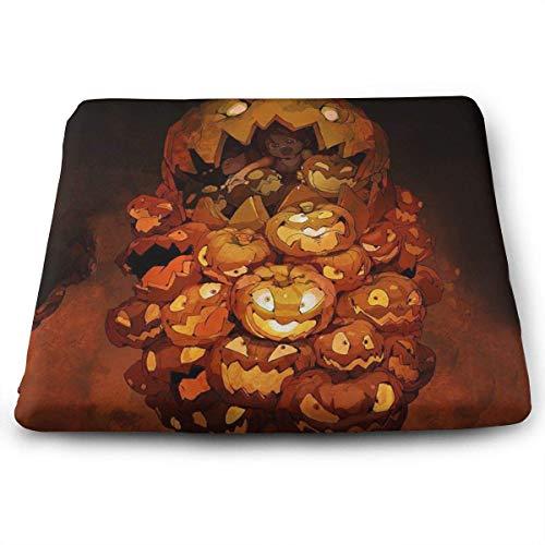 Mastexoru Seat Cushion Halloween Seat Meditation Cushion with Memory Foam Cushion for Office Chair Car Seat – Back Pain & Sciatica Relief(15