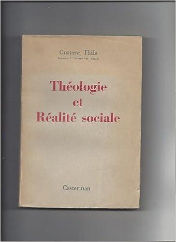 Livre Théologie et réalité sociale. pdf