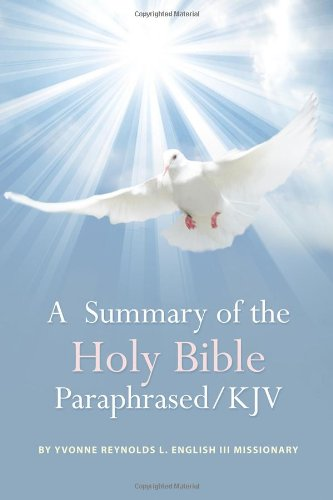 A Summary of the Holy Bible Paraphrased pdf epub