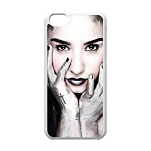iPhone 5c Cell Phone Case White Demi Lovato qeul