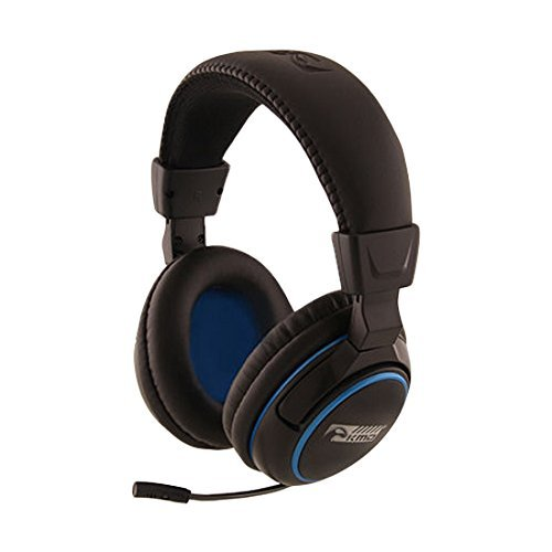 KMD Pro Gamer Headset Large - Black [並行輸入品] B07466WSXF