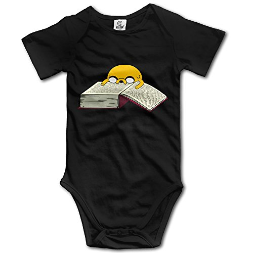 Adventure Time Jake Dog Reading Baby Onesie Baby Bodysuit