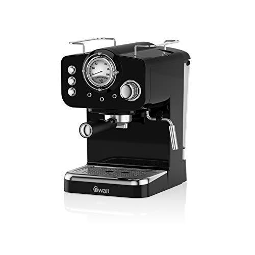Swan SK22110BN cafetera espresso, 1 Cups, negro