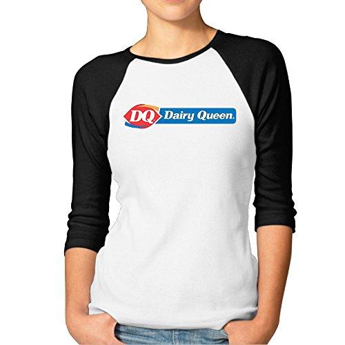 Women Football Midweight Jersey Tee Shirts Dairy Queen T Shirt Joker