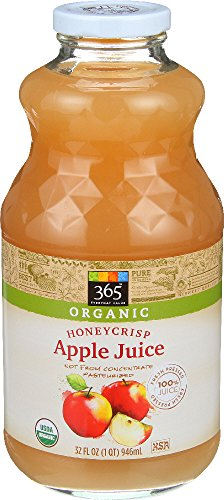 365 Everyday Value, Organic Honey Crisp Apple Juice, 32 fl oz