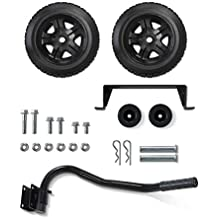 Champion Wheel Kit with Folding Handle and Never-Flat Tires for 2800 to 4750-Watt Generators (Renewed)