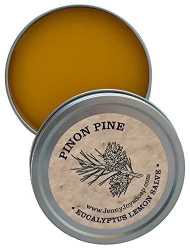 - Pine Drawing Salve of Pinon, Eucalyptus & Lemon 4 oz Antibacterial Healing of The Southwest Minor Burns, Psoriasis, Eczema, Massage, Aromatherapy & Dry Skin by Jenny Joy's Soap