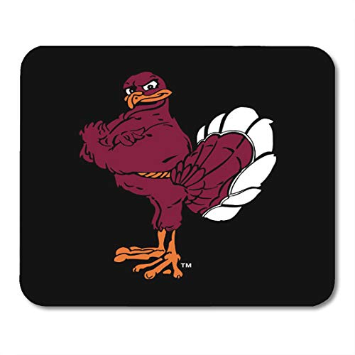 Aikul Mousepad Virginia Hokie Bird Tech Football Hokies Bookstore Mouse Mat 9.5
