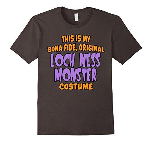 Last Minute Scary Costume Ideas (Mens Bona Fide Original Loch Ness Monster Costume Last Minute Shi 2XL Asphalt)