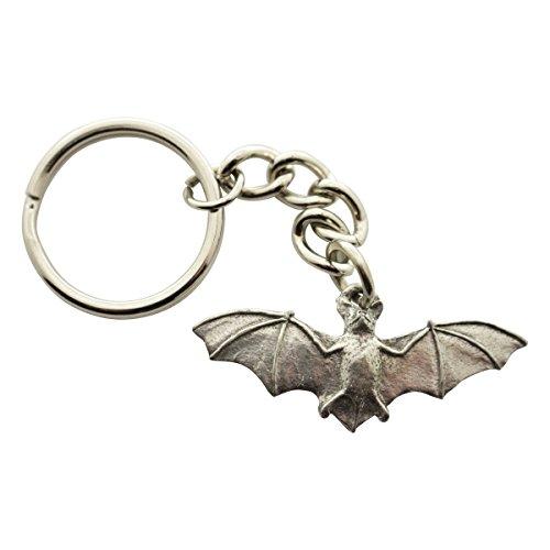 Sarah's Treats & Treasures Bat Keychain ~ Antiqued Pewter ~ Keychain