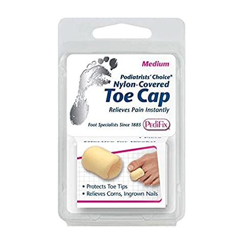 Pedifix P34 Nylon Toe Cap - Total PolyFoam Toe Protection, Large