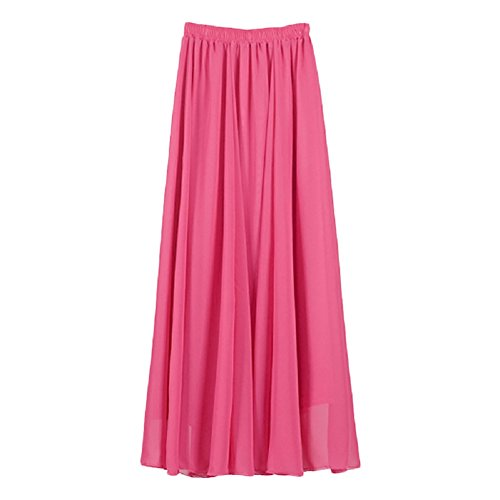 Sexy Women Boho Color-Matching Waisted Summer Party Long Maxi Dress - 2