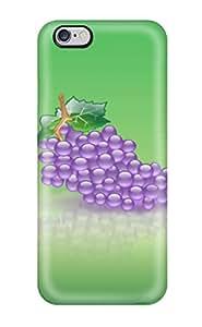 Anti-scratch And Shatterproof Aqua Grape Phone Case For Iphone 6 Plus/ High Quality Tpu Case