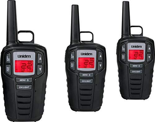 Uniden SX307-3C FRS 3-Pack