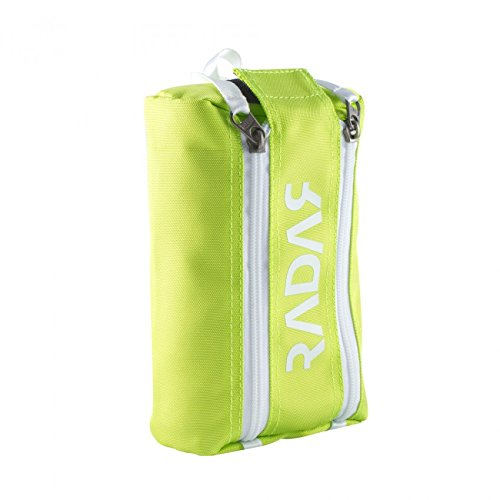 Radar Wheelie Bag - New for 2017 - Quad Wheel Bags are Now Available in 8 Vibrant Colors! - Lime by Radar