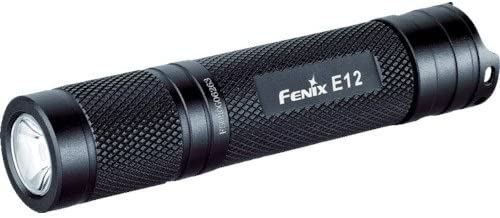 best Fenix E12 Flashlight Pocket-Sized bright flashlight 130 Lumens under $50