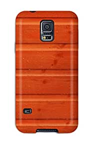 (XVoMSxt20657kZhox)durable Protection Case Cover For Galaxy S5(nice Orange Wall )